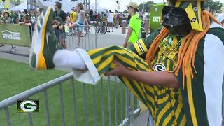 packers training camp - Video