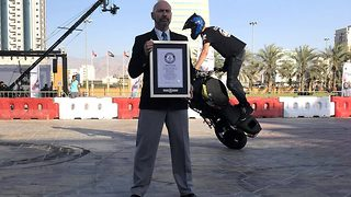A wheelie dizzy world record