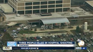 Three killed in Chicago hospital shooting