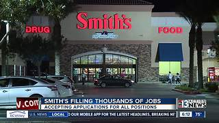 Smith's hiring thousands for holiday season