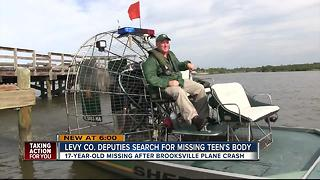 Levy Co. deputies search for missing teen's body