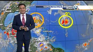 Sunday night Tropical update 92L - Video