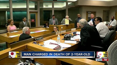 Judge issues $1.25M bond for man charged with murder in toddler's death