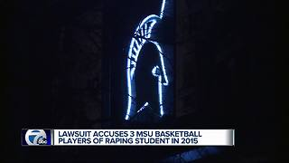 MSU facing federal lawsuit over handling of alleged rape by three basketball players - Video