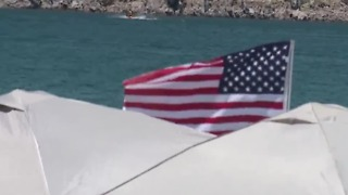 Visitors enjoy Lake Mead on Memorial Day - Video