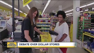 The debate over dollar stores