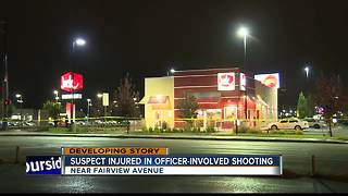 Suspect injured in Boise officer-involved shooting - Video