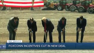 Foxconn deal with Wisconsin lowers tax breaks to $80 million