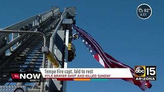 Funeral held for Tempe Fire Captain - Video