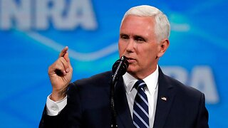 "Mike Pence claims Trump admin will ""Follow the science"" on climate change"