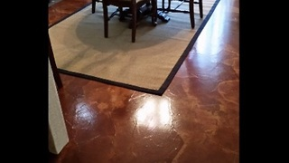 How to create breathtaking 'paper bag' flooring for your house - Video