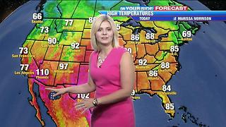 Showers on Friday, sun returns by Saturday - Video