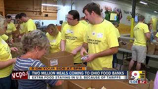 2 million meals coming to Ohio food banks