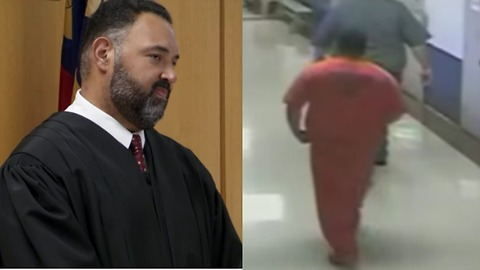 Judge Caught On Camera Going Into Inmate's Cell