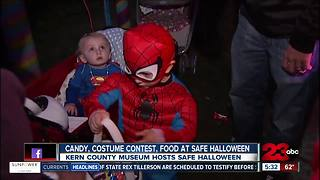 Safe Halloween event promotes safe trick-or-treating for kids and families - Video