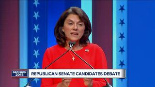 GOP Senate candidates debate amid tight race