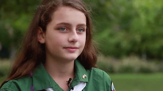 This Girl Wants Girls To Be Included In Boys Scouts - Video