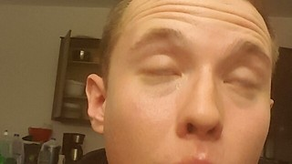 Don't Rub Your Eye After Eating A Ghost Pepper - Video