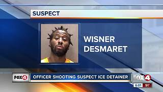 ICE files hold on suspected police shooter - Video