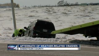 Tow companies and drivers pick up abandoned cars