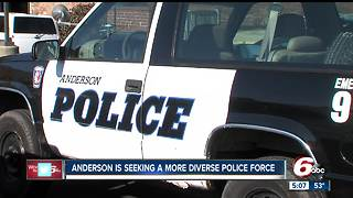 Anderson police seeking more minority officers to join force - Video