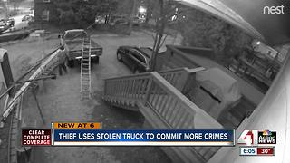 Stolen truck being used to commit crimes, construction company owner says - Video
