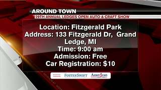 Around Town 7/12/18: 29th Annual Ledges Open Auto & Craft Show - Video