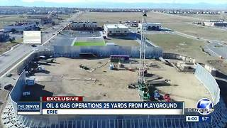 State acknowledges miscommunication over oil and gas venting near Erie school - Video