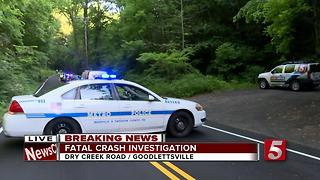1 Killed In Single-Car Crash In Goodlettsville - Video