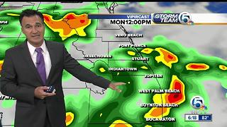 Sunday evening weathercast - Video