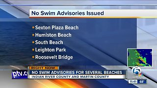 Health warning issued for Martin, Indian River County beaches because of bacteria