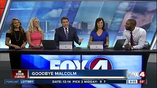 Fox 4 says farewell to reporter Malcolm Johnson - Video