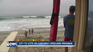 Carlsbad council to vote on lifeguard program - Video