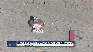 New London Police: Don't eat candy given at St. Patrick's parade - Video