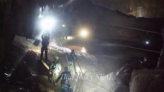 8 Of The 12 Boys Stuck In A Thai Cave Have Been Rescued - Video