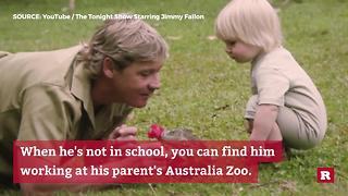 Like father, like son — Robert Irwin | Rare People - Video