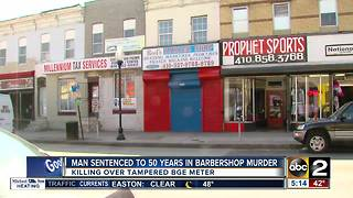 Man sentenced to 50 years in Barbershop Murder - Video
