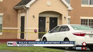 Police Investigate Apartment Complex - Video