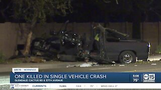 Deadly crash in Glendale