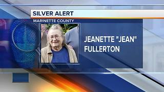 Police searching for missing elderly woman in Marinette County
