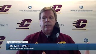 MAC is back: Jim McElwain talks Central Michigan's return to practice
