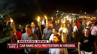 Chaos, violence at white nationalists rally in Charlottesville - Video