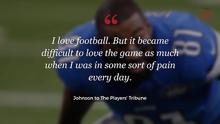 Calvin Johnson Chose His Health Over Playing Football - Video