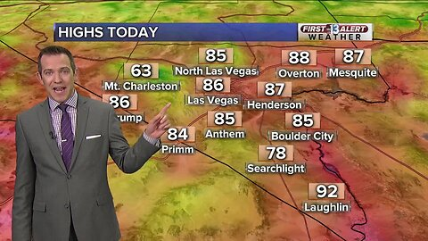 13 First Alert Las Vegas weather updated April 18 midday