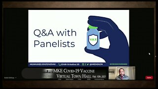 Milwaukee hosts COVID-19 Vaccine Virtual Town Hall Wednesday