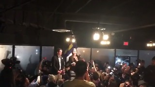 First Openly Transgender Legislator Danica Roem Gives Victory Speech - Video