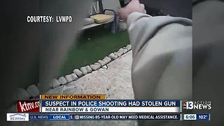 Police: Man who shot at officers had stolen gun - Video