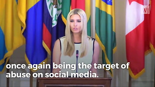 Establishment Media Reams Ivanka Over Kindness to Jacksonville Victims