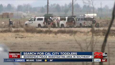 BPD searches southeast Bakersfield for missing toddlers