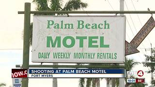 Shooting at Palm Beach Motel - Video
